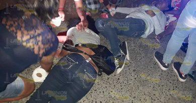 Las atropella una motocicleta en la Tuxpan - Tampico