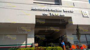 Liberan oficina del SAT en Tuxpan
