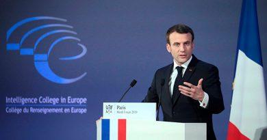 Macron avisa de que la UE dependerá de otros si no mejora su espionaje