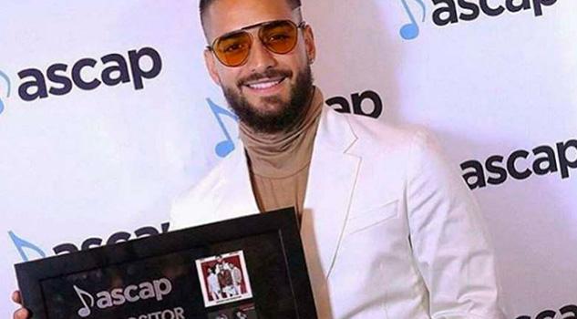 Maluma recibe premio ASCAP por Mejor Compositor del Año
