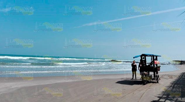 Monitoreo a playas de Tuxpan para descartar riesgos sanitarios