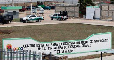 Motín en penal de Chiapas deja dos lesionados
