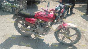 Motociclista fue golpeado por una camioneta