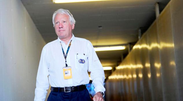 Muere Charlie Whiting, el director de carreras de la Fórmula 1