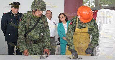 No quieren accidentes con armas en Poza Rica