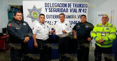 Nuevo delegado de tránsito en Zamora