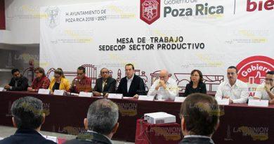 Ofrecen programas al sector empresarial en Poza Rica