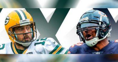 Packers vs. Bears, el Kickoff de la NFL