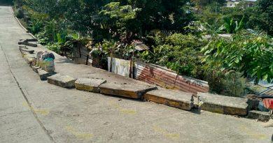 Peligro latente sobre la calle Pípila en Cazones de Herrera