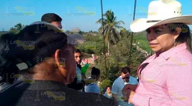 Pescadores de la Barra de Cazones arremeten contra alcaldesa de Tamiahua