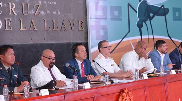 Prevención, principal estrategia contra el Dengue, Zika y chincungunya Gobernador de Veracruz