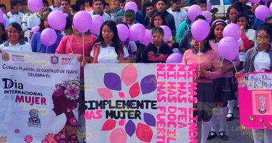 Promueven la igual de género en Castillo de Teayo