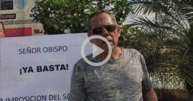 Quieren fuera al sacerdote de la comunidad La Concepción
