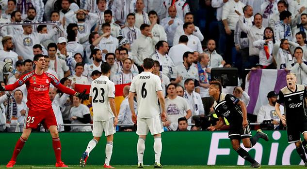 Real Madrid, eliminado y goleado por Ajax