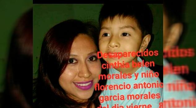 Reportan desaparición de madre e hijo en Cazones de Herrera