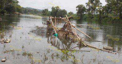 Se acaba el río Cazones