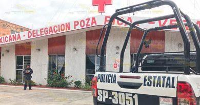 Se llevan el dinero de la colecta; atracan la cruz roja de Poza Rica