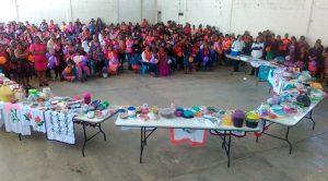 Secretaría de Salud realizó ferias de salud en el Día Internacional de la Mujer