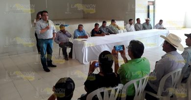 Secretario de SEDARPA reafirma apoyos a la citricultura en Álamo
