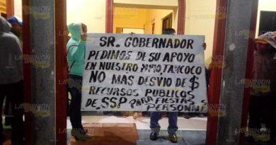 Toman Palacio Municipal en Tancoco