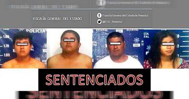 Obtiene Fiscalía Regional Xalapa 4 sentencias condenatorias contra secuestradores