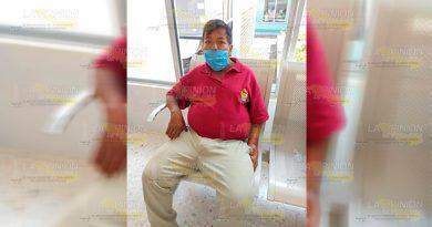 Taxista de Coxquihui solicita ayuda, padece de insuficiencia renal
