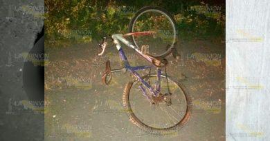 Camión surtidor de cerveza arrollo a un ciclista en Tlapacoyan