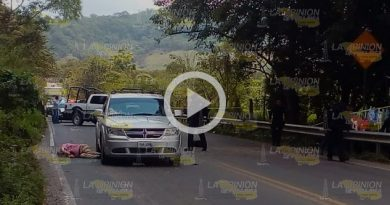 Masacre sobre la carretera federal Papantla - Poza Rica