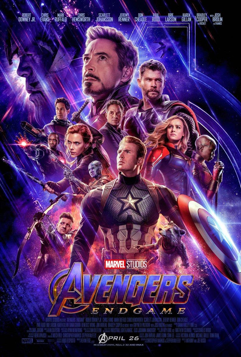 Póster final Avengers Endgame