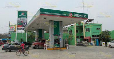 ¡Suman tres robos contra gasolineras en Álamo!
