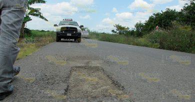 ¡Aguas con las carreteras de Álamo! Advierten a vacacionistas