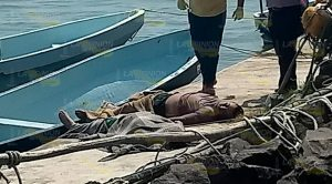 ¡Tragedia en Tecolutla, turista y elemento de FC se ahogan!