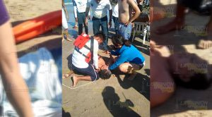 ¡Vino a la playa Martita en Tuxpan, y encontró la muerte!