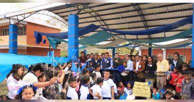 Alcalde de Álamo entrega importantes obras para beneficio social
