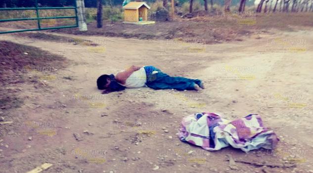 Aparece un muerto en los límites entre Oaxaca y Veracruz