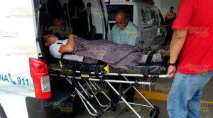 Atropellan a estudiantes del CBTis 30 en Cerro Azul