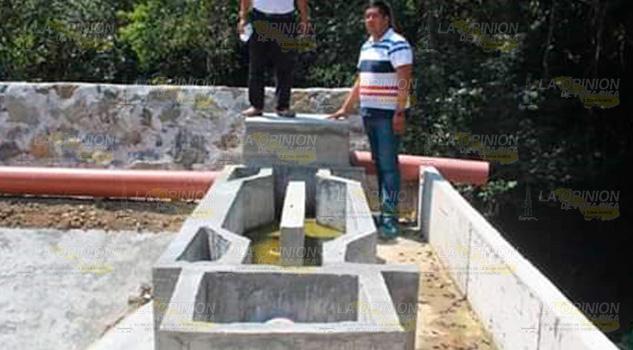 Avanza construcción de planta de tratamiento en Xilico, Hidalgo