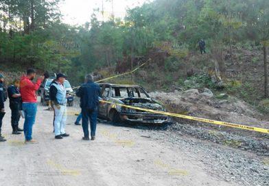 ¡SAÑA! Acribillados e incinerados en Teopancingo, Puebla