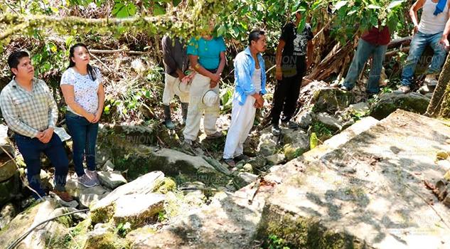 Cambiaran línea de agua en beneficio de 3221 habitantes de Zozocolco