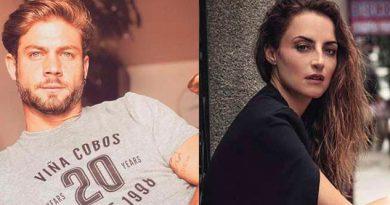 Captan a Horacio Pancheri y Marimar Vega dándose un apasionado beso
