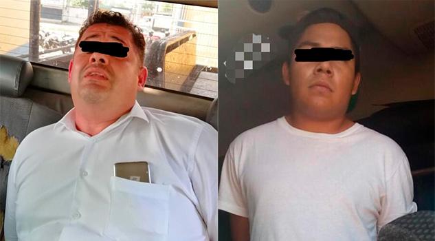Captura Policía Estatal a dos presuntos secuestradores en Minatitlán