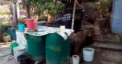 Carecen de agua desde hace más de tres meses en Castillo de Teayo
