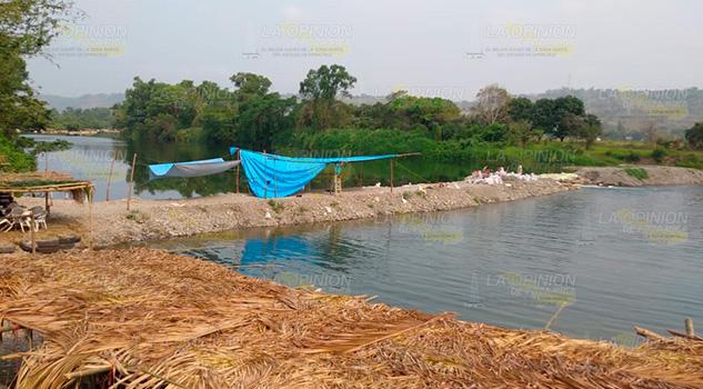 Casi se ahoga en las aguas del río Cazones