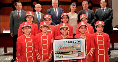 Celebra INAH su 80 aniversario con sorteo de la Lotería Nacional