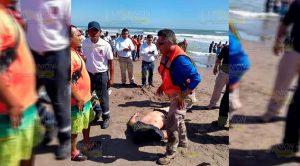 Cobra su tercer víctima la playa de Tecolutla