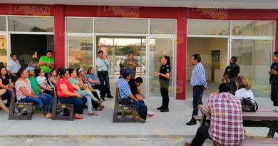 Colonos de Tuxpan crean redes para la prevención de delitos