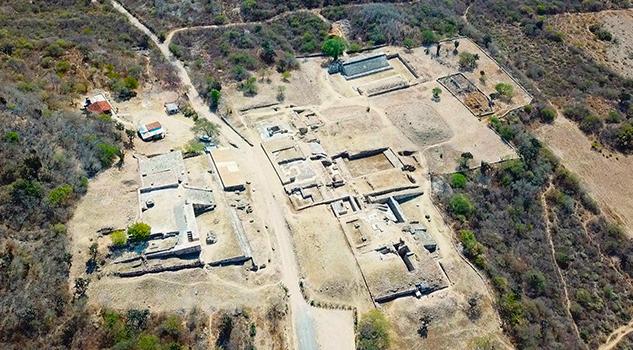 Concluye restauración de la Zona Arqueológica de Dainzú