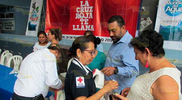 Confía la Cruz Roja de Álamo en respuesta ciudadana