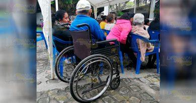 Continúan discapacitados en la indefensión en Tuxpan