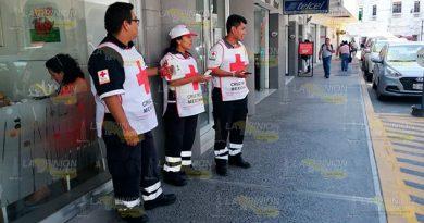 Cruz Roja en Tuxpan no suspenderá colecta por Semana Santa